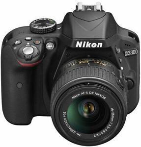Nikon D3300 + AFS NIKKOR 18-55mm VR Lense - $420 (Downtown Vanco