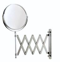 Wall-Mount Expandable Vanity Mirror