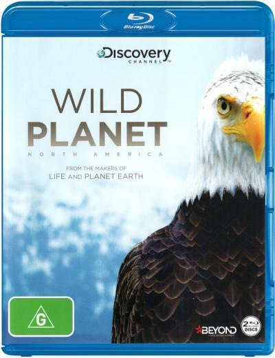 Wild Planet: North America  - BLU-RAY - NEW Region B