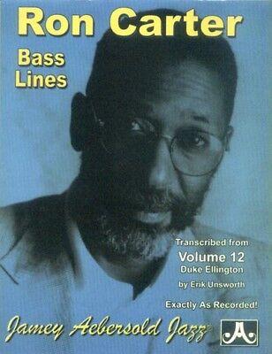 Jamey Aebersold Jazz Play-Along 12 Duke Ellington Bass Lines Noten