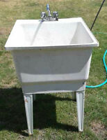 REDUCED FOR QUICK SALE: Utility Sink, freestanding