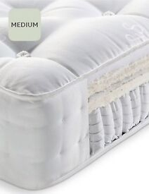 Brand New Ex Display, M&S Natural 2800 Pocket Double Mattress 135x190cm RRP£899.00 Our Price £150.00