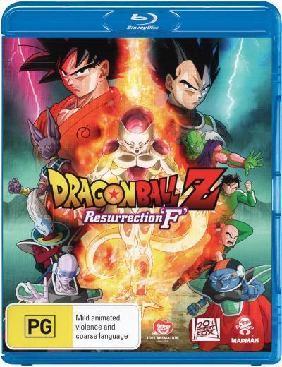Dragon Ball Z: Resurrection F  - BLU-RAY - NEW Region B