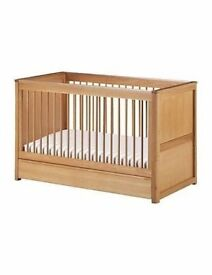 Cot / Cot bed (M&S Chloe)