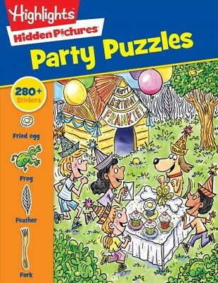 - Highlights Sticker Hidden Pictures Party Puzzles, Paperback by Highlights for...