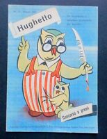 Pubblicità Calzature Hug - Hughetto - Maggio 1952 - maggi - ebay.it