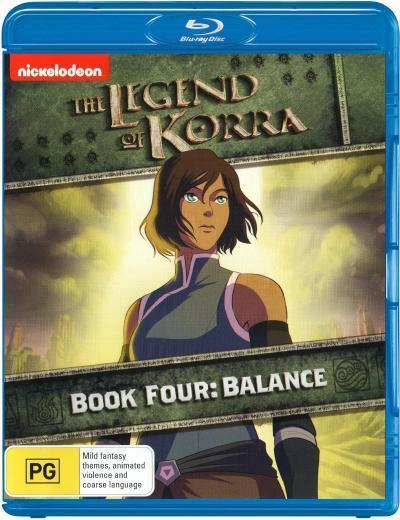 The Legend of Korra: Book 4 - Balance  - BLU-RAY - NEW Region B