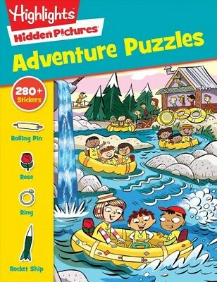 - Highlights Sticker Hidden Pictures Adventure Puzzles, Paperback by Highlights...