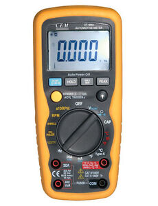 AT-9995E Professional Automotive DMM with USB Interface