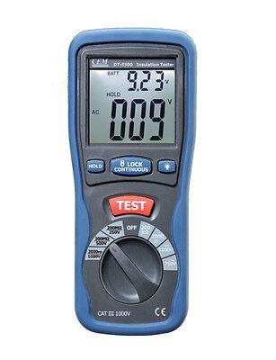 Digital Insulation Resistance Tester Megger Mega Ohmmeter1000v 2000mohmdt-5500b