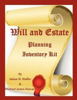 Will And Estate Planning Inventory Kit