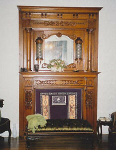 Gorgeous Victorian Fireplace Mantle