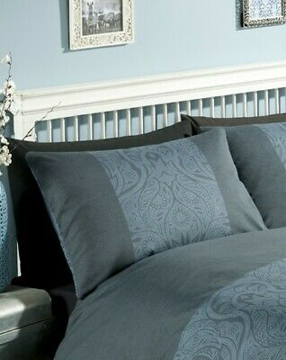 *CLEARANCE* Elizabeth Hurley Aruba Teal Blue Luxury 2 Housewife Pillowcases *UK*
