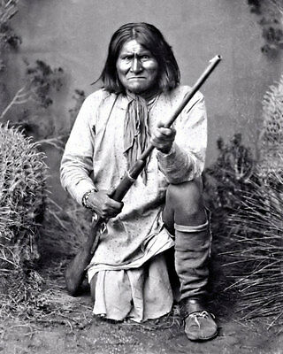 Geronimo Photo 8X10 - 1887 Apache Indian Chief  Buy Any 2 Get 1 FREE
