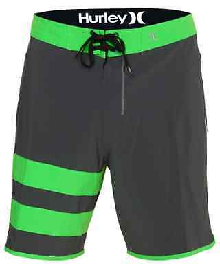 Mens Phantom 60 Block - NEW HURLEY PHANTOM 60 BLOCK PARTY MEN'S BOARDSHORTS GREEN 28 30 32 34 38  $59.50