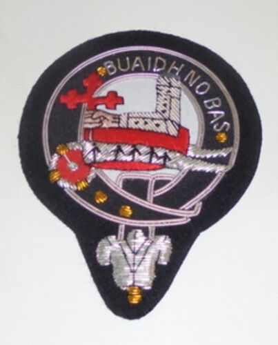 Royal Scottish Scotland McDougal MacDougal Clan Crest Heraldry Family Name Patch