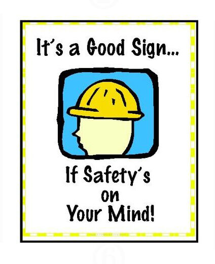 top 10 industrial safety posters ebay