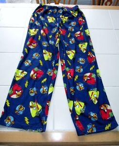 Boys 2pc Angry Birds long sleeve pajamas size M (10/12) Kingston Kingston Area image 3