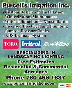 Winter irrigation system blow-outs Strathcona County Edmonton Area image 3
