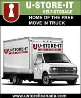 FREE Move In Truck with Self Storage Rental