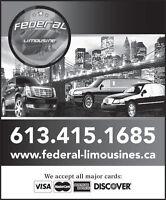 limousine ride special // Offre special tour limousine