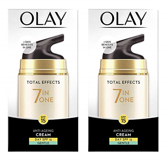 Olay Total Effects 7 in One Day Cream Gentle SPF15 50g Anti-
