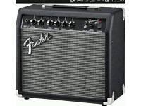 Fender frontman. 15 watt practise amp.