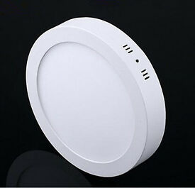 New 18W / 24W Surface Mount LED Panel Light Round Ceiling Downlight Cool White Day White Acceessory