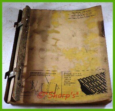 John Deere 1020 Parts Catalog Pc970 Genuine Original 1965 Versiondealership