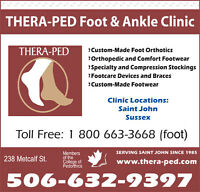 Thera-Ped Autumn Footwear Sale!!