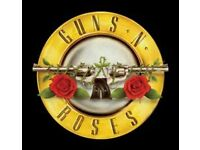 2 x Guns n Roses Tickets Friday 16/6/2017