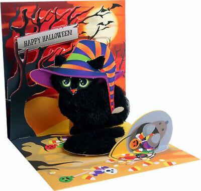 Spooky Cat Pop-Up Halloween Card