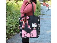 Hello Kitty Shoulder Bag Beach Bag Tote Bag