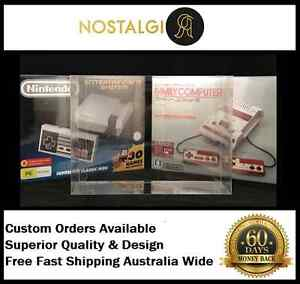 RETRO GAMES DISPLAY COVER BOX PROTECTORS / HIGH QUALITY PET Ingleburn Campbelltown Area Preview