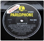 Beatles Please Please Me Parlophone