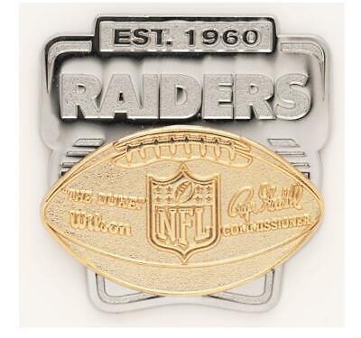 058b556e Oakland Raiders Logo Deluxe Pin Duca Distintivo NFL Football Metallo. $.  22.35. Buy It Now