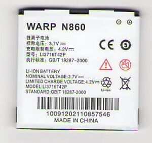 NEW BATTERY FOR ZTE N860 WARP BOOST USA SELLER