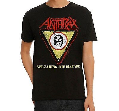 Anthrax Spreading The Disease T Shirt New Authentic   Licensed