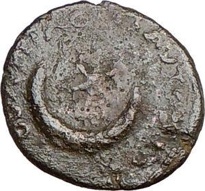 CARACALLA-Pautalia-in-Thrace-198AD-Ancient-Roman-Coin-STAR-MOON-i22728