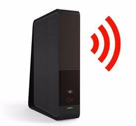 Virgin Fibre Optic Router/Modem