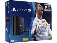 Ps4 pro unopened 1tb brand new all warranty