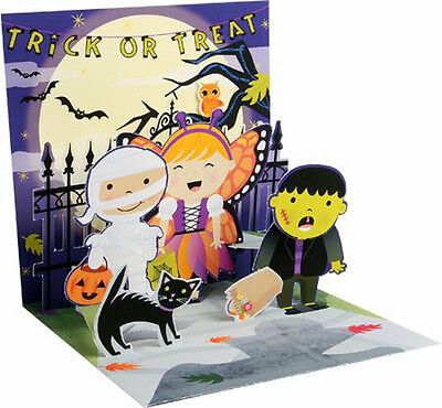 Scary Shadow Pop-Up Halloween Card - Greeting Card by Up With - Halloween Pop Ups Scary