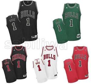 New Derrick Rose Chicago Bulls #1 Jersey 5 Figure free chose