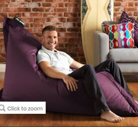AS NEW - GIANT Indoor /Outdoor Bazaar Bean bags