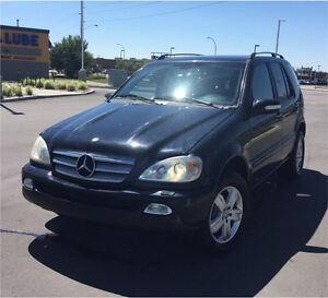 2005 Mercedes-Benz ML 500 Special Edition