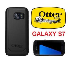 NEW OTTERBOX GALAXY S7 PHONE CASE COMMUTER SERIES - BLACK - CELL MOBILE - PROTECTION - SAMSUNG 103726411