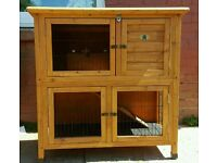 Double Decker Rabbit / Guinea Pig Hutch