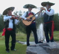 Mariachi band in Calgary - including a trumpet & violin.