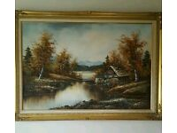 Scenic Oil Painting