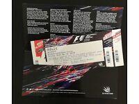 F1 Farm Curve Grand Stand Tickets